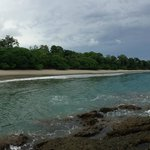 The beach is a 20 minute walk through the National Park from the hotel
