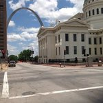 View of the Gateway Arch