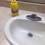 It was cute the bathroom hand soap was in a mustard bottle
