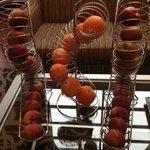 Neat Fruit Display