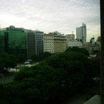 vista da avenida