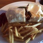 Steak Wrap! yummo!