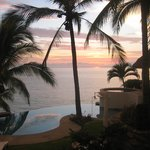 Amazing Sunset by our Jacuzi.