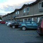 North side parking