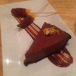 delightful orange mousse cake
