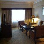 Suite- TV set and couch