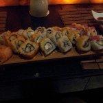 Sushi at Ginger