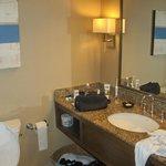 Bathroom was fine. Great condition.