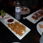 calamari and bruchetta apps