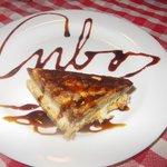 Tiramisú en el restaurante Italiano