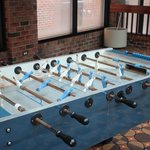 Rusted out Foosball Table
