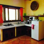 Interior view of villa kitchenette