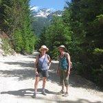 Logging road described as trail