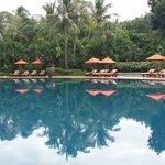 Huge relaxing pool