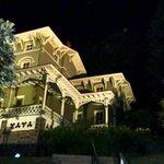 Asa Packer Mansion at night