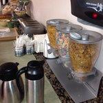 Cereal y pan para iniciar el día