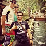 at holy spring water temple BALI