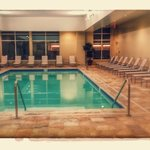 Indoor pool on 4th Floor