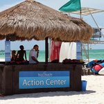 Rental center, items can be charged to your Sail & Sign card if on cruise ship