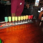Rainbow shot in the pub!