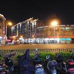 tumen street shopping area