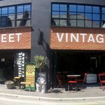 The coffee counter. Vine street.