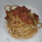 Pici salsiccia e funghi