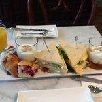a nice breakfast ...