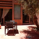 terrasse privée de la suite sup