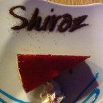 raspberry cheesecake, naughty but very nice !
