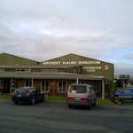 The nearby Ancient Kauri Kingdom, closing due to lack of power