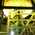 Inside the windmill -- water pumping device