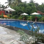 Swimming Pool with Bar besides