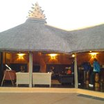 Bar and meeting area before morning game drive.