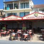 fantastic Apollon restaurant