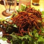Amazing green salad