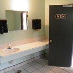 Clearwater Inn Washrooms