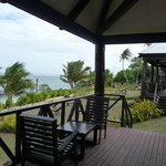 View to the sea on your deck