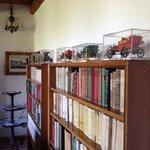 libri, libri in un salotto d'altri tempi