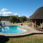 pool next to waterhole