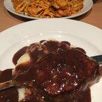 Fillet Steak & Pescatore pasta