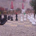 Larry & Bob playing chess