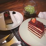 Red velvet & chocolate cheese
