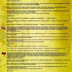 menu in inglese e francese