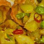 Dal menu vegetariano: Samosa