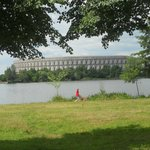 Reichsparteigelande: Congress Hall distant view