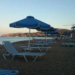 Plaża wieczorem