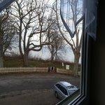 Blick aus unserem Fenster