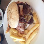 Steak Sandwich - gluten free