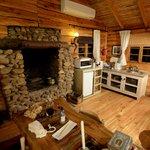 Wohnraum mit Küchenecke Cabin